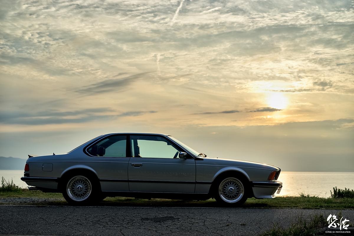BMW E24専門店 シルキーシックス様 撮影